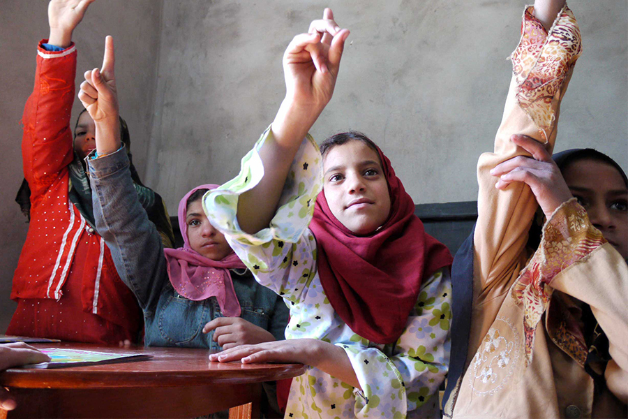 In Egypt, Terre des hommes (Tdh) creates access to education for girls.